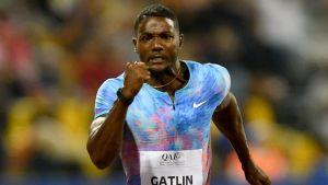 Justin Gatlin springer