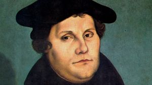 reformatorn Martin Luther 1529.