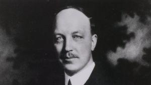 Presidentti Risto Ryti joskus 1940-41.