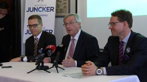 Jean-Claude Juncker lovar Katainen fin post i EU-kommissionen