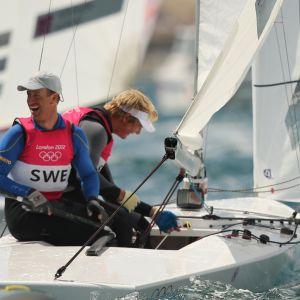 Fredrik Löf och Max Salminen vann OS-guld i Star-klassen i London.