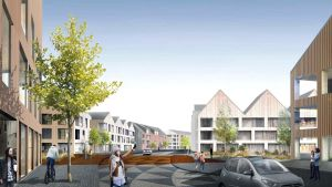Skissförslag på Nickby boulevard