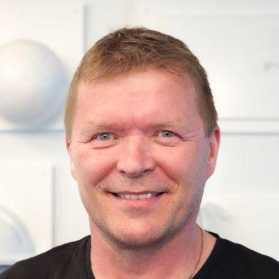 Arto Sirviö är Finlands Svenska Idrotts idrottschef.