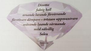 Diamantdikten.