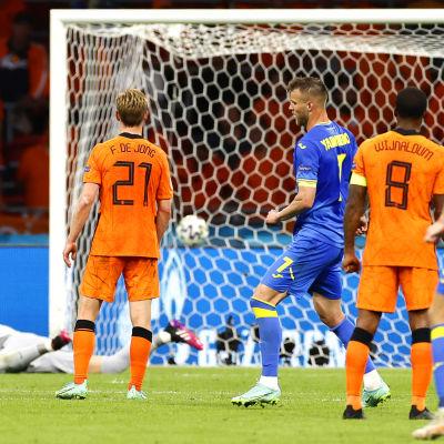 Andrij Jarmolenko har gjort mål.