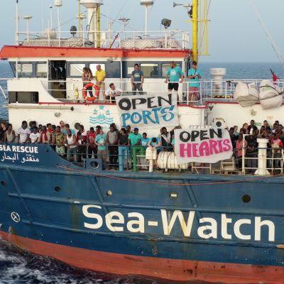 Fartyget Sea-Watch på Medelhavet