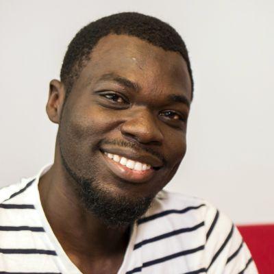 Kevin Tobah on 31-vuotias kamerunilainen turvapaikanhakija.