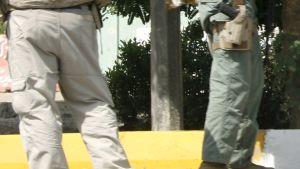Beväpnade Blackwater-vakter i Irak