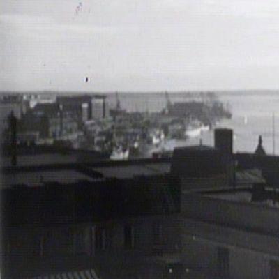 Helsinkiä vuonna 1950.