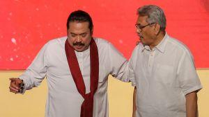 Bröderna Gotabaya och Mahinda Rajapaksa har länge dominerat Sri Lankas politik och vördas av många bland majoritetsfolket singaleser