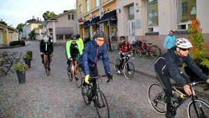 Tour de Östnyland 2017 startar från Mellangatan i Borgå.
