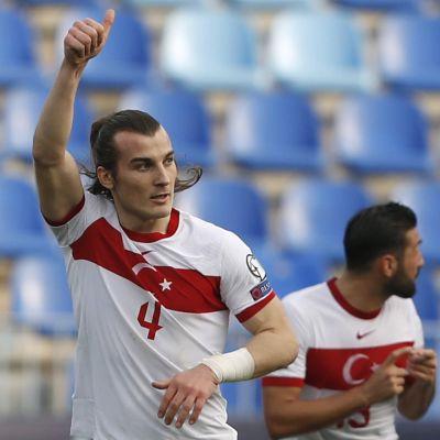 Çaglar Söyüncü firar mål i landslaget.