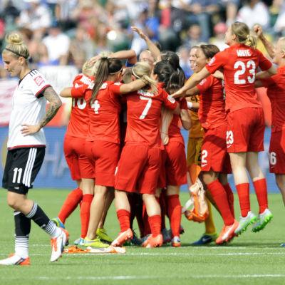 England firar VM-bronset
