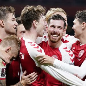 Tanskan miesten jalkapallomaajoukkueella pyyhkii hyvin
