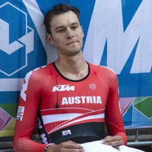 Cyklisten Georg Preidler.
