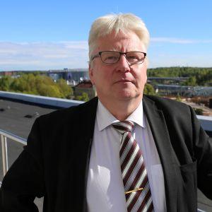 Heikki Kopperoinen, biträdande polischef vid polisinrättningen i Helsingfors.
