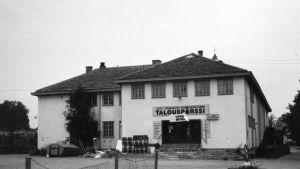 Talouspörssi i Föreningshuset i Pargas
