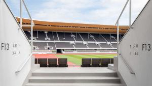 Bild på Olympiastadion.