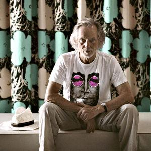 Muusikko ja taiteilija Klaus Voormann.
