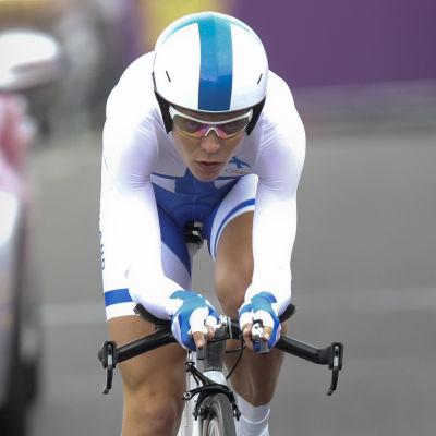 Pia Sundstedt, OS i London 2012.