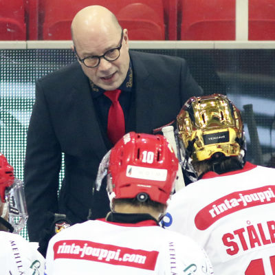 Risto Dufva under timeout i Sport.
