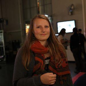 Bloggaren Kata747 (Katarina Pada), 21 år, har just flyttat till Helsingfors för att studera kulturproducentskap. Hon kom till STK för att mingla och träffa nya människor.