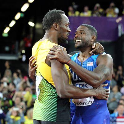 Usain Bolt Justin Gatlin