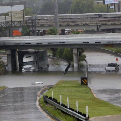 Översvämningar i Houston.