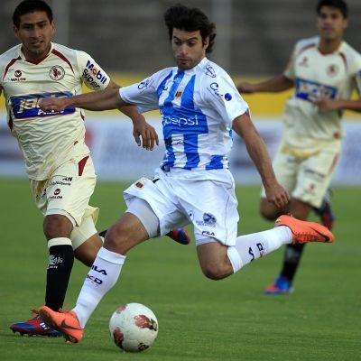 Sebastian Rusculleda equadorilaisen Deportivo Quiton paidassa.
