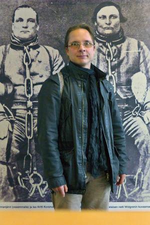 Oikeuspsykiatri Mika Rautanen.