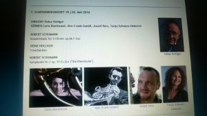 Innsbruckin orkesterin kausiohjelmasta RSO