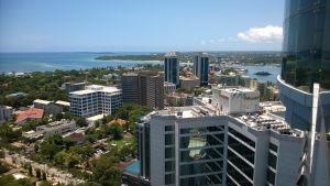 Utsikt över Tanzanias huvudstad Dar es Salaam.