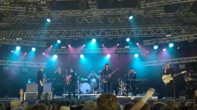 isländska bandet of monsters and men på Ruisrock