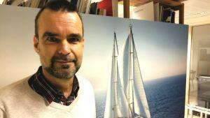 Juha Aromaa, informationschef på Greenpeace