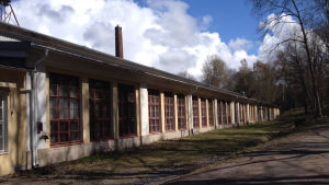 Vackra byggnader i Björkboda lås