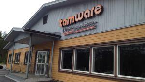 Dörrtillverkaren Tamware har produktionsanläggning på industriområdet Brinken i Malax.