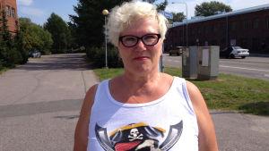 Marjatta Pakarinen är koordinator inom enheten för missbrukarvård i Vanda.