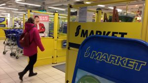 S-market i köpcentret Lundi i Borgå.