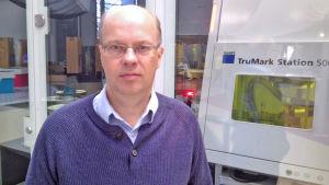 Jan Sten, ekonomie doktor från Hanken i Helsingfors.