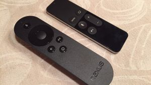 nexus player apple tv kaukosäätimet