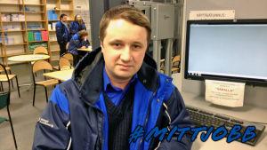 Tsygarin Oleg, busschaufför i Helsingfors.