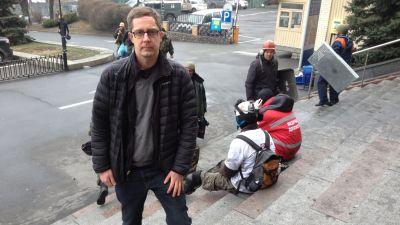 Antti Kuronen i Kiev 2014.