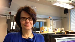 Petra Högnäs, verksamhetsledare för Marthaförbundet i Österbotten