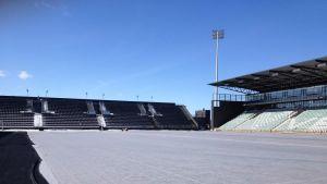 Kuppis fotbollsstadion, april 2013