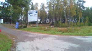 Kuusakoskis tidigare återvinningscentral.