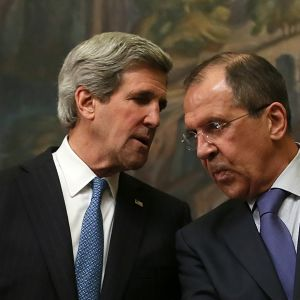 Lavrov och Kerry möts i Washington.