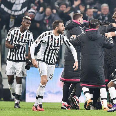 Juventus juhlii