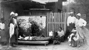 Fotografi från Burma under tredje pestepidemin
