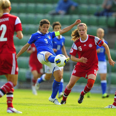 Patrizia Panico, Italien-Danmark, VM 2013.