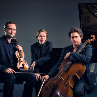 Sibelius Piano Trio uppträder på Kimitoöns Musikfestspel sommaren 2015